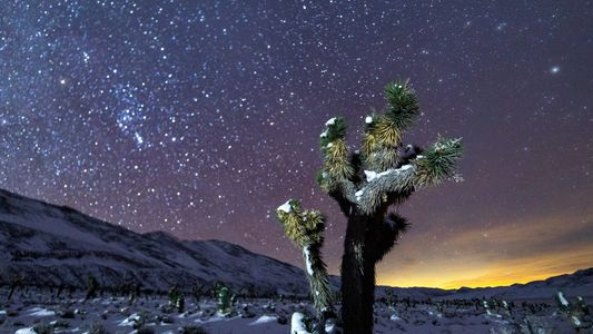 Este fotógrafo crea conciencia sobre la contaminación lumínica en el Valle de la Muerte