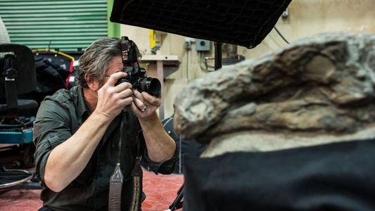 Robert Clark fotografía el fósil «más impresionante que ha visto nunca»