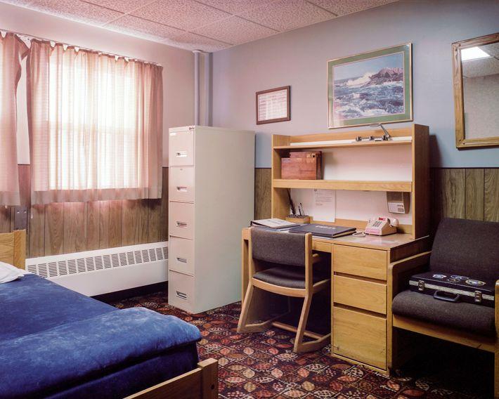 La habitación y la oficina