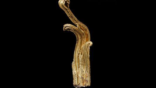 Una nueva investigación revela por qué esta es la forma de oro más rara del mundo