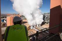 Central de energía solar de Marruecos