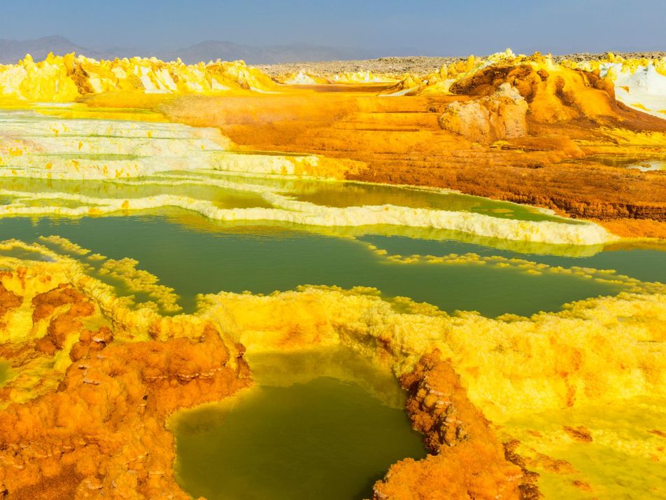 Admira 10 de los paisajes más alienígenas de la Tierra