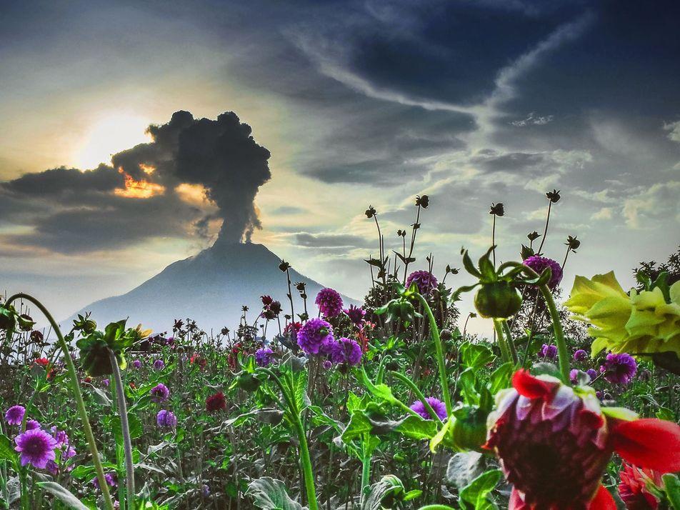 Fotografías increíbles de volcanes de todo el mundo en acción