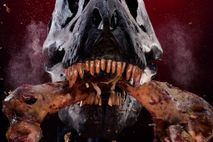 Cráneo mecánico de T. rex