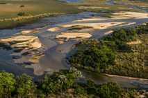 Fotografía del delta del Okavango