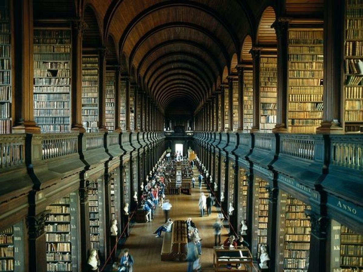 Vieja biblioteca del Trinity College, Dublín