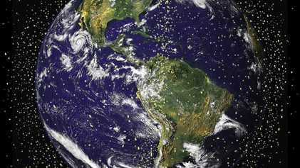 Dos fragmentos de basura espacial corren un «alto riesgo» de colisionar