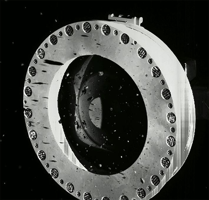 Cabezal de muestreo TAGSAM de la OSIRIS-REx