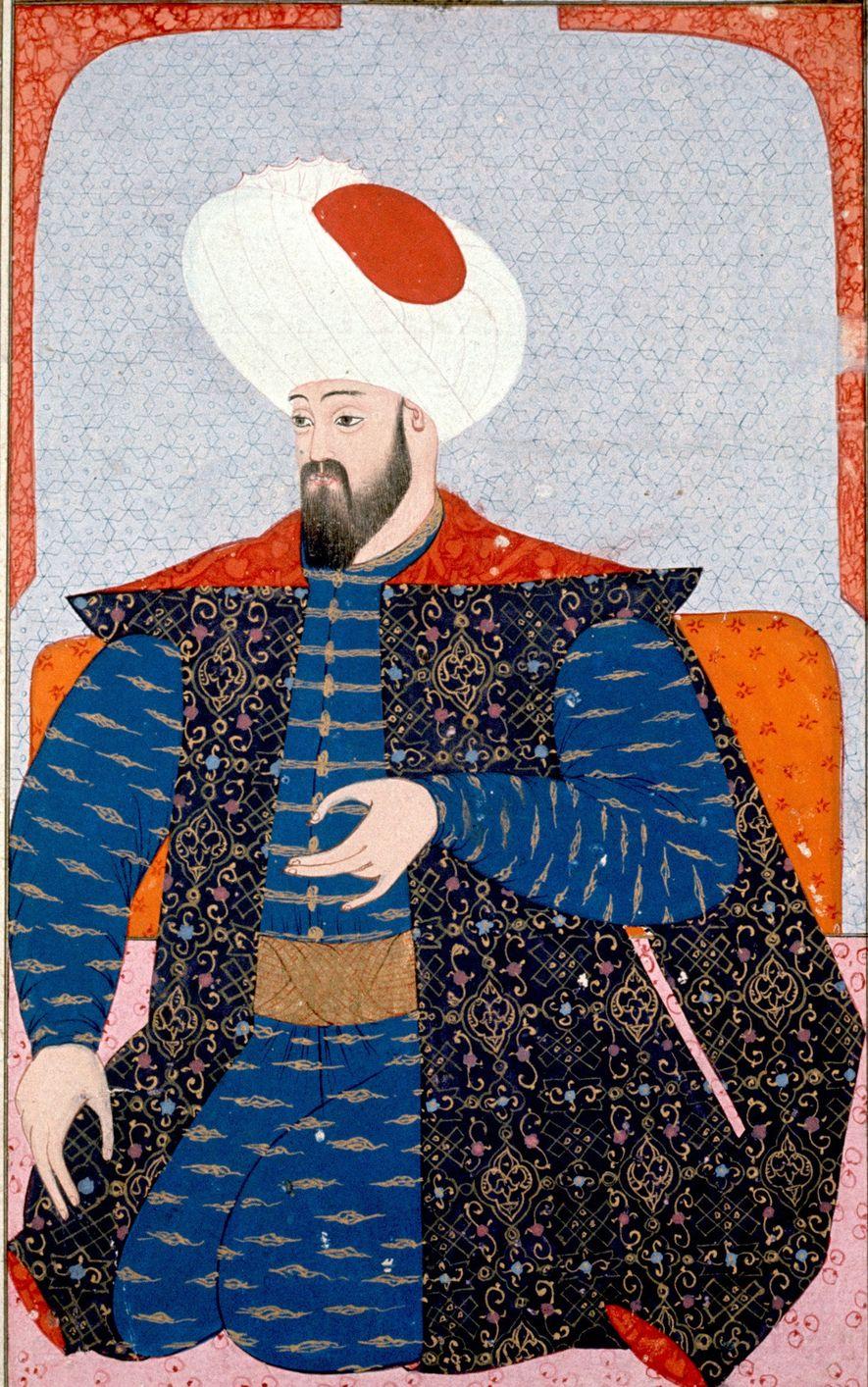 Retrato de Osmán del siglo XVI. Osmán fue el primer sultán del Imperio otomano.