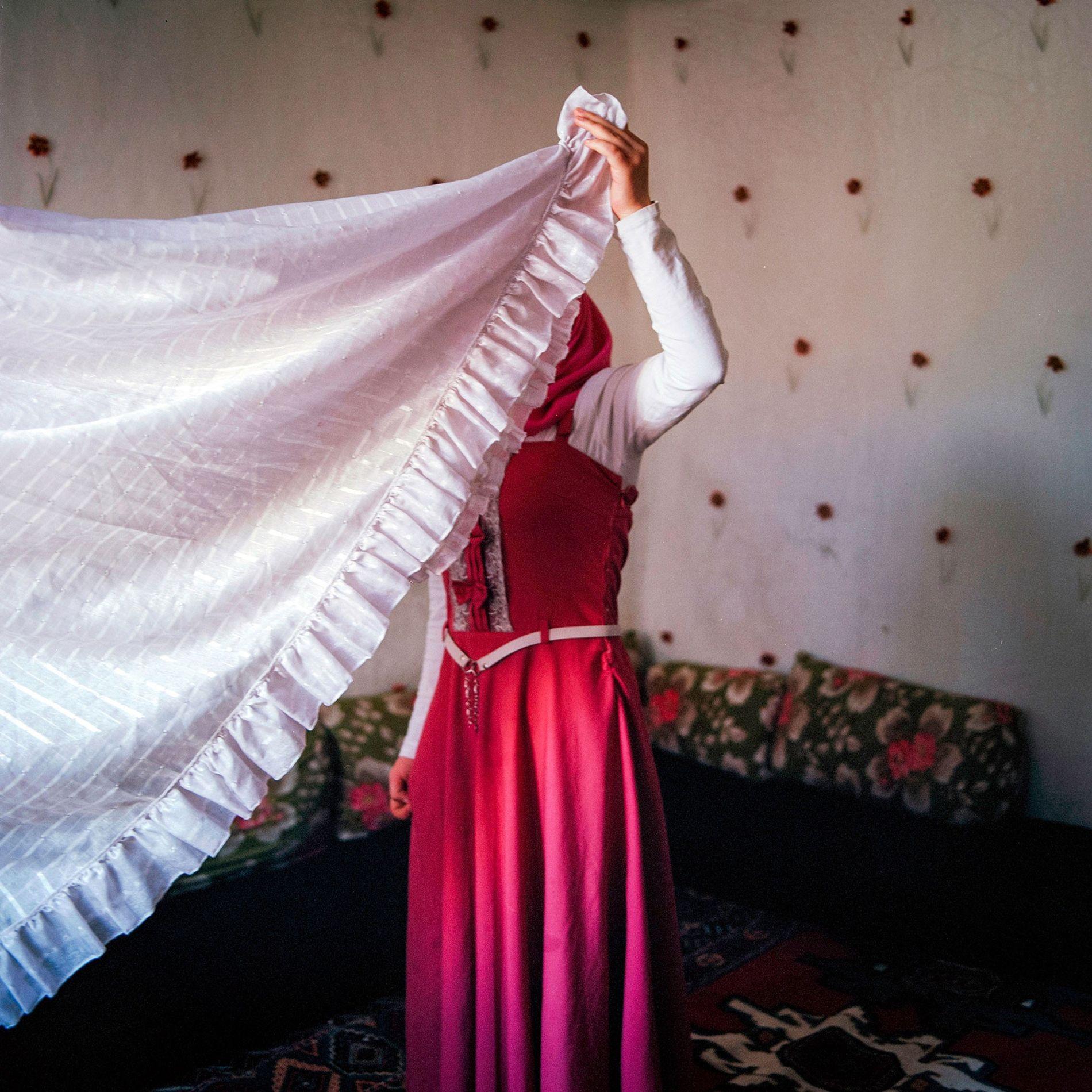 Niñas novias sirias