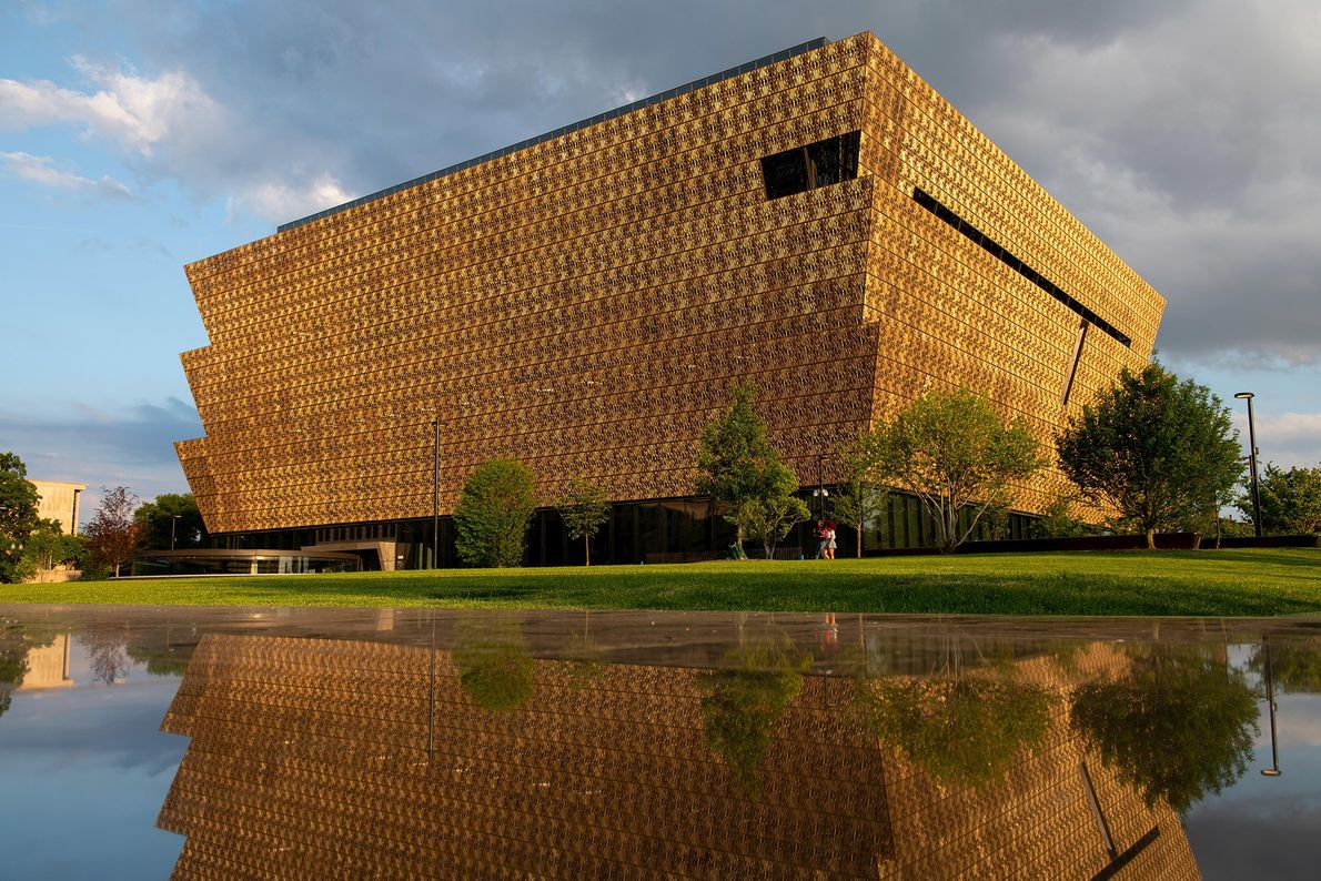 Opened in 2016, Washington D.C.'s newest Smithsonian museum offers a bold contrast to the National Mall's ...