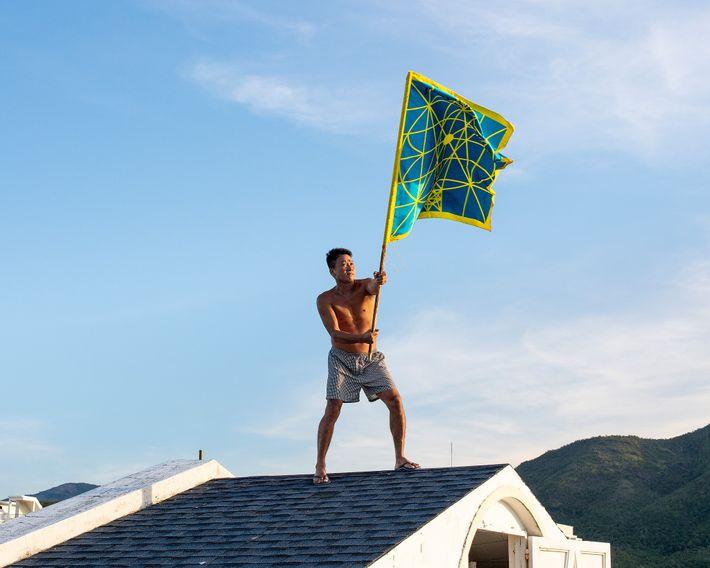 Bui hondea la bandera