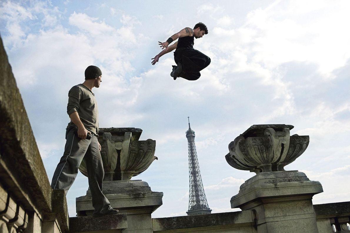 Parkour en París