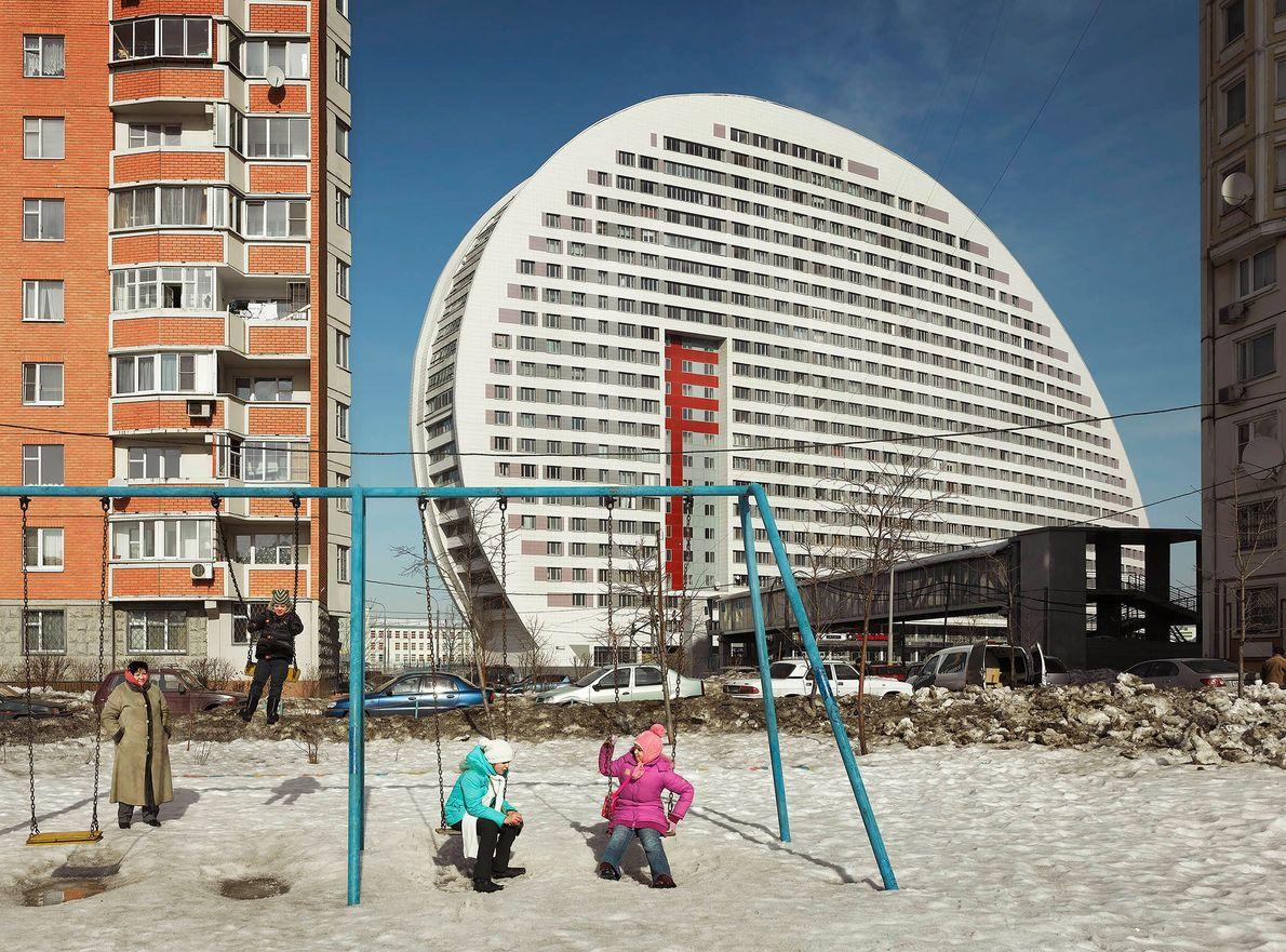 Edificio Parus en Moscú, Rusia