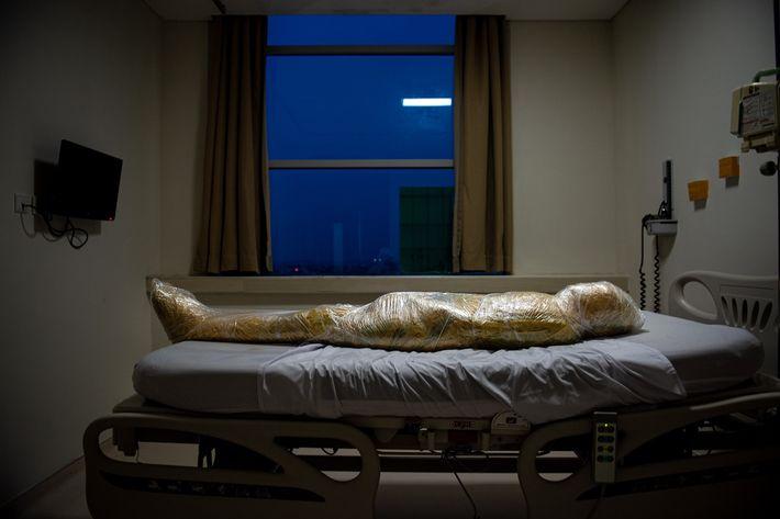 Paciente fallecido de COVID-19