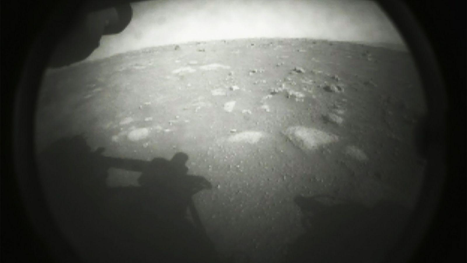 Primera fotografía de la superficie de Marte