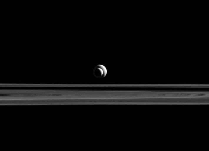 Enceladus, Cassini