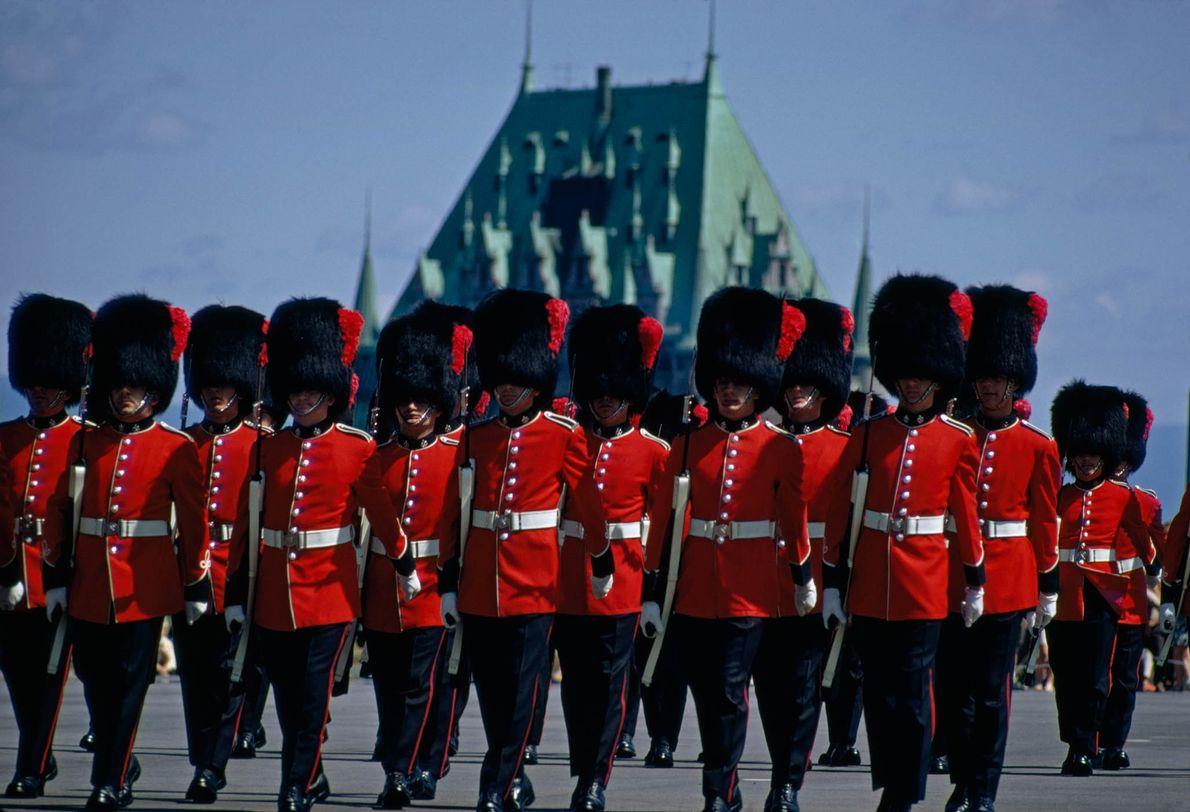 Soldados franco-canadienses
