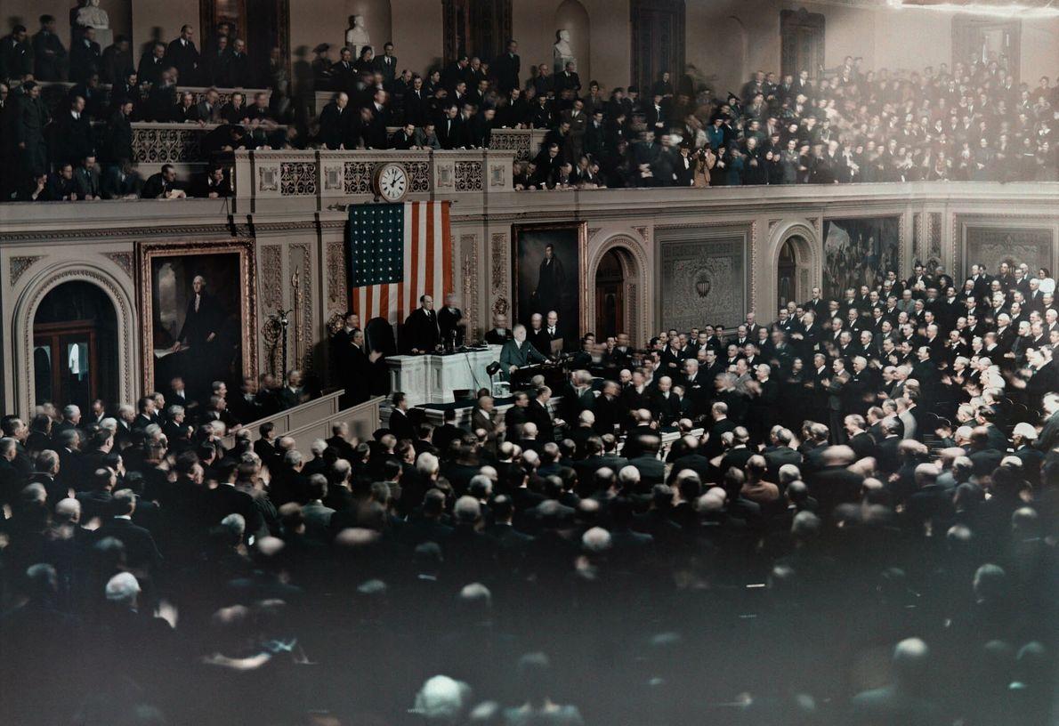 Discurso en el Congreso