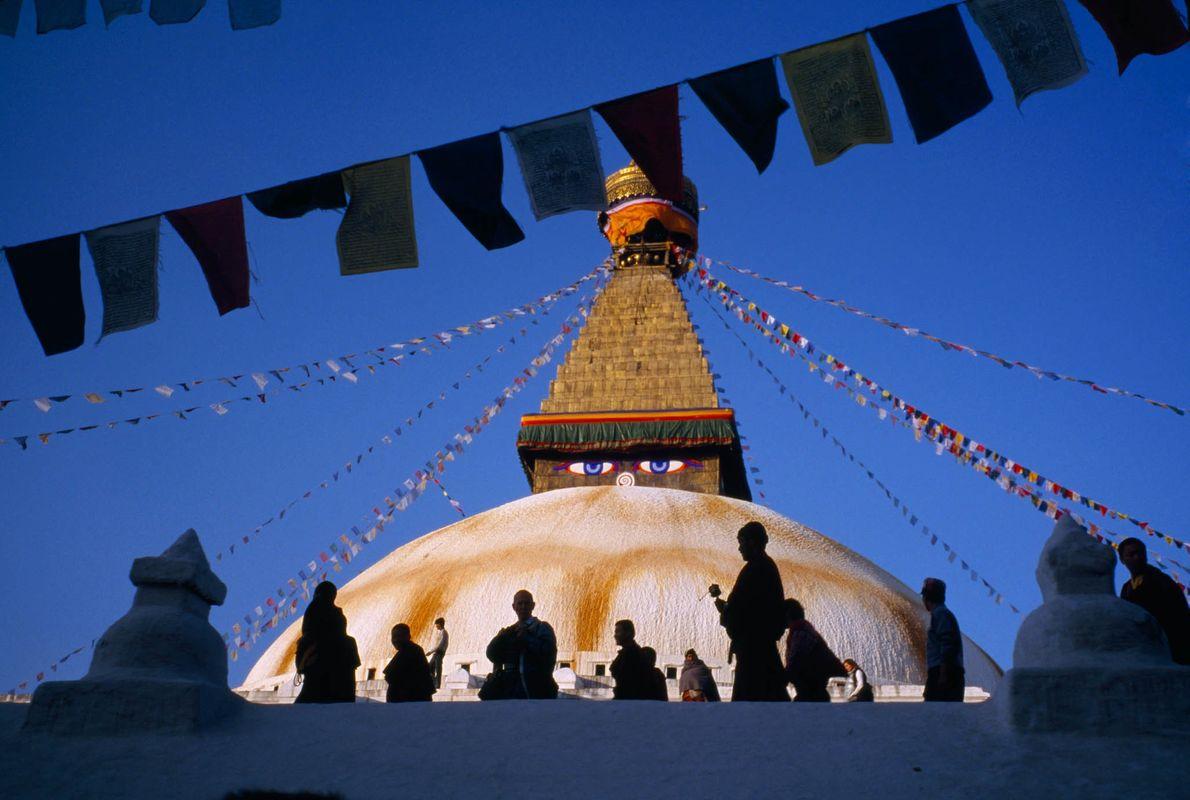 Peregrinación en Katmandú