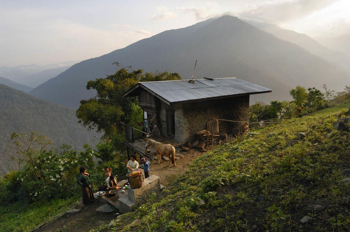 Nimshong, Bután