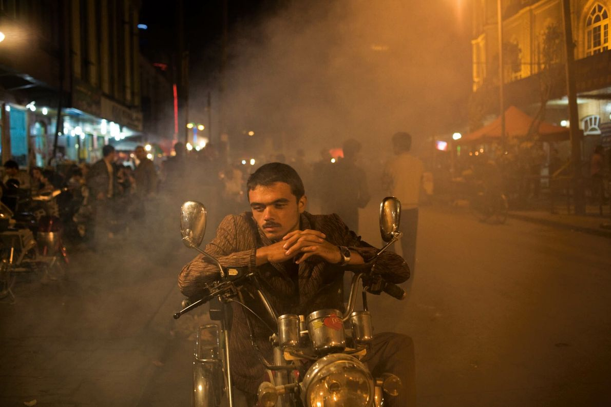 Taxista uigur