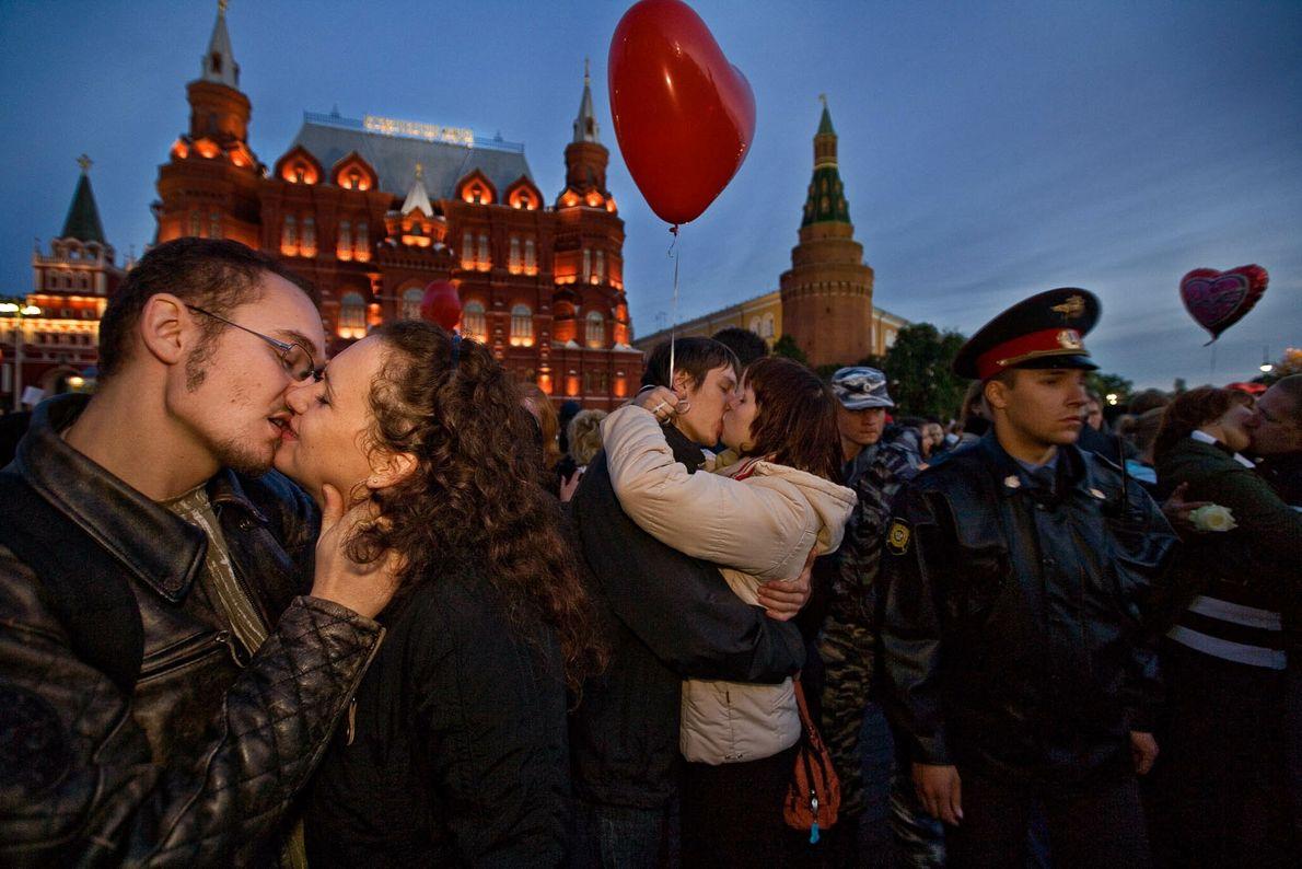Moscú romántico