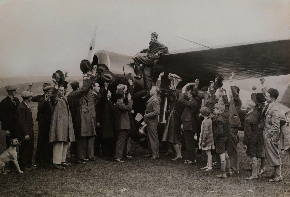 El logro de Earhart
