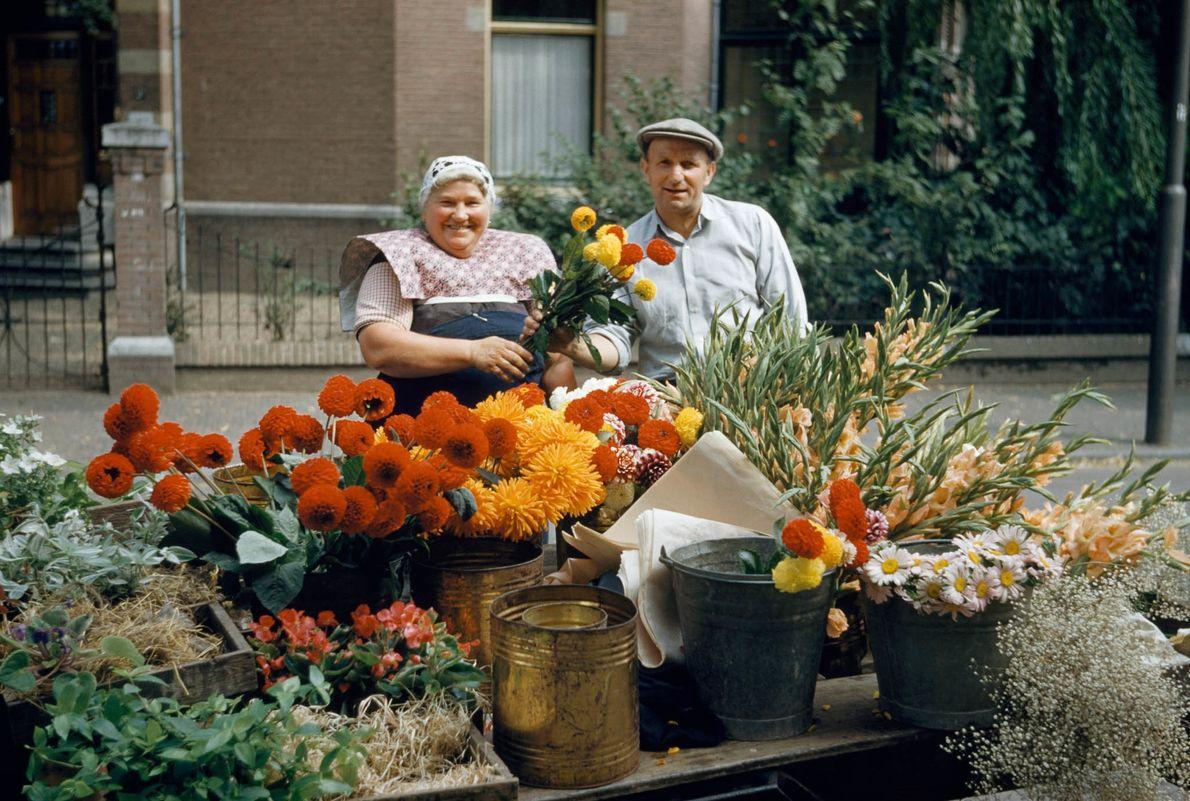 Flores a la venta