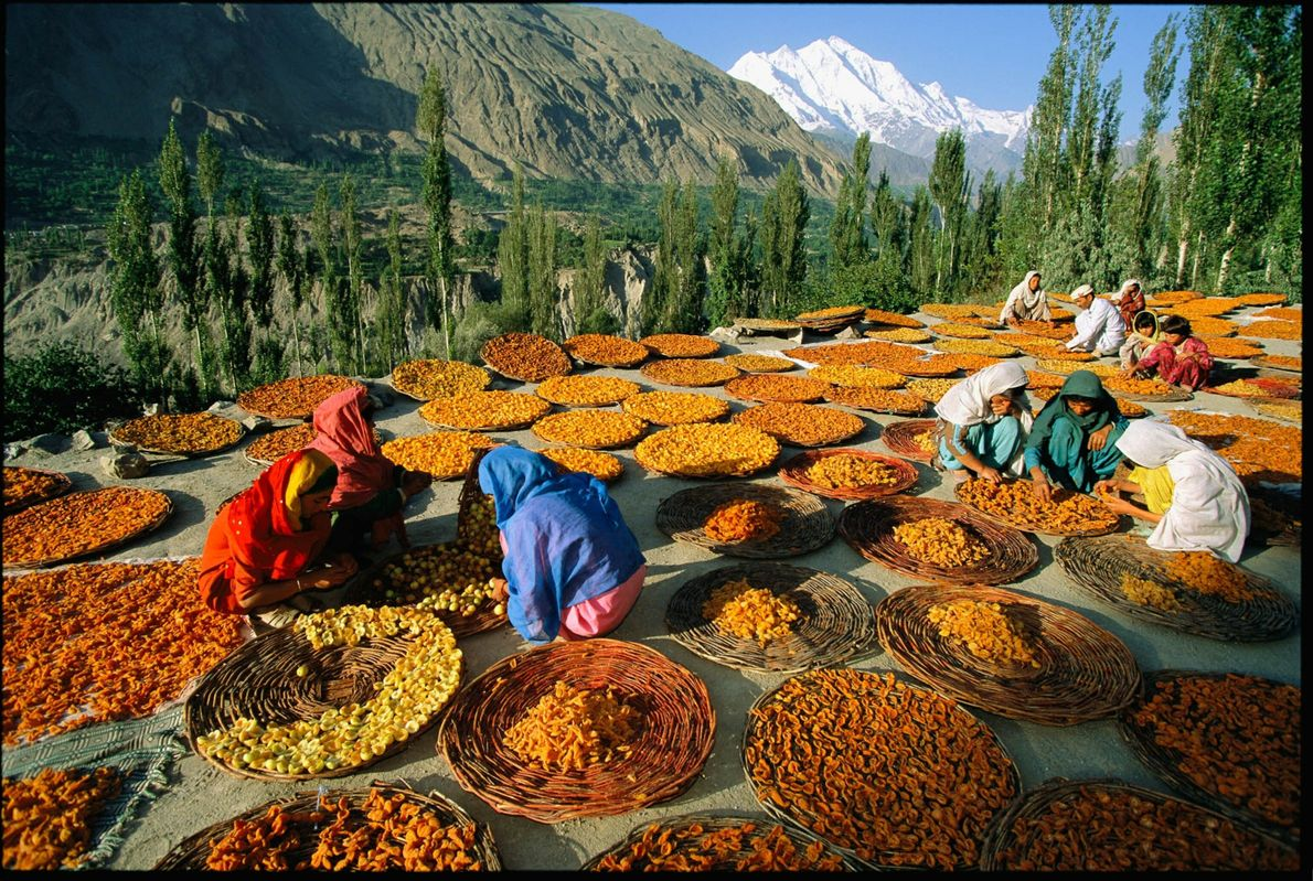 Valle de Hunza, Pakistán