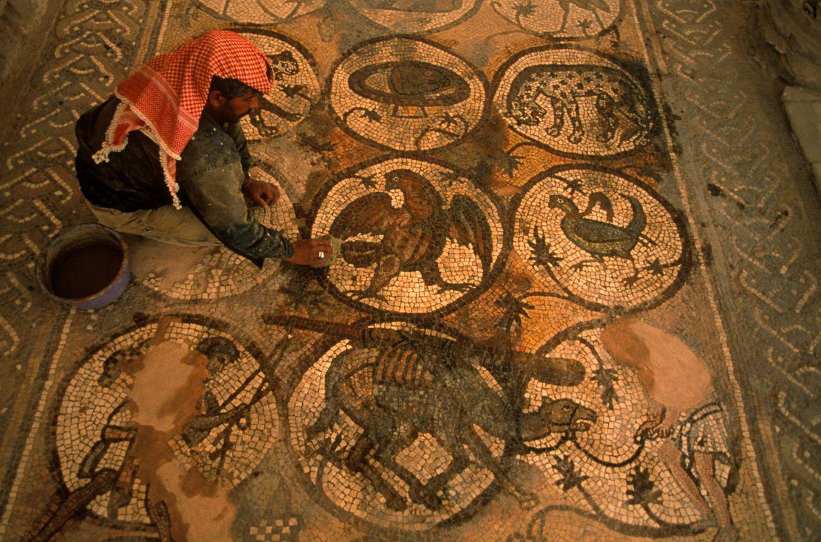 Mosaico en Petra