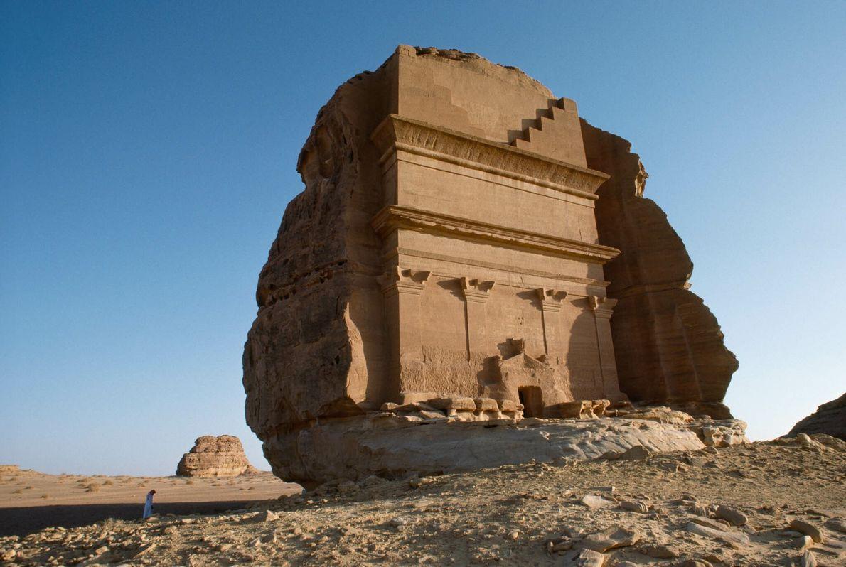 Mausoleo en Arabia Saudí