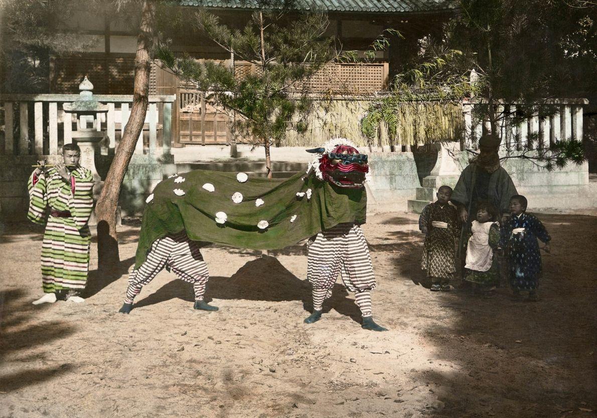Fiesta en Japón