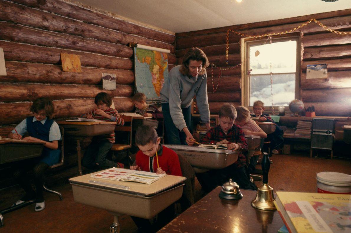 Escuela de Trapper Creek, Alaska