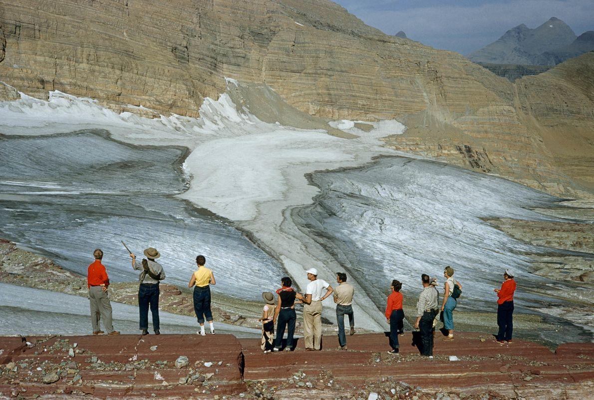 Visitando glaciares