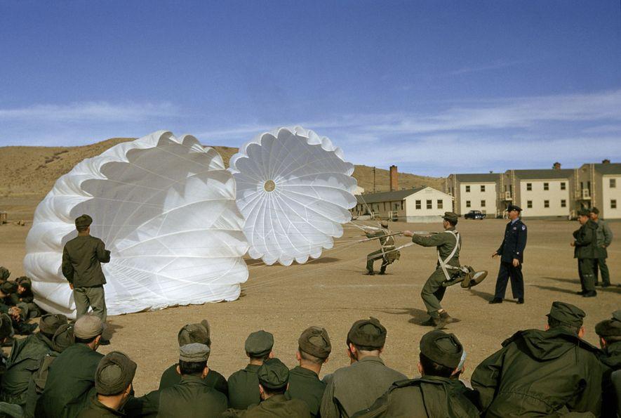 Clase de paracaidismo