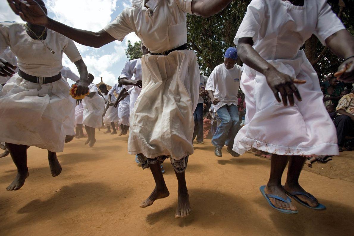 Campo de refugiados de Uganda