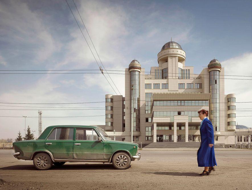 Kazán, Rusia. Jefatura de policía (2002)
