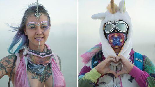 Los disfraces de Burning Man 2016