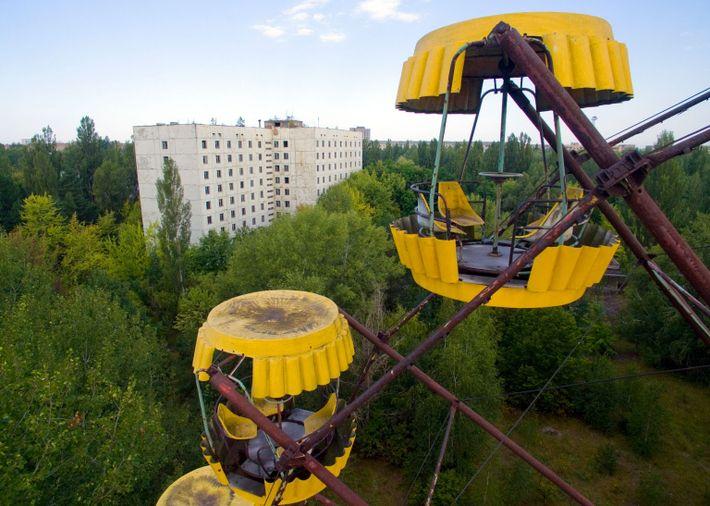 Noria de Prípiat, Ucrania