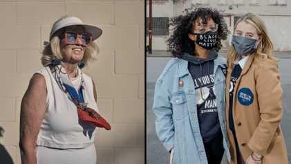 Estas fotografías muestran los últimos días de unas elecciones únicas en Estados Unidos