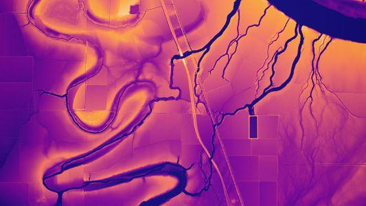 Mapas del Misisipi creados por lídar (2)