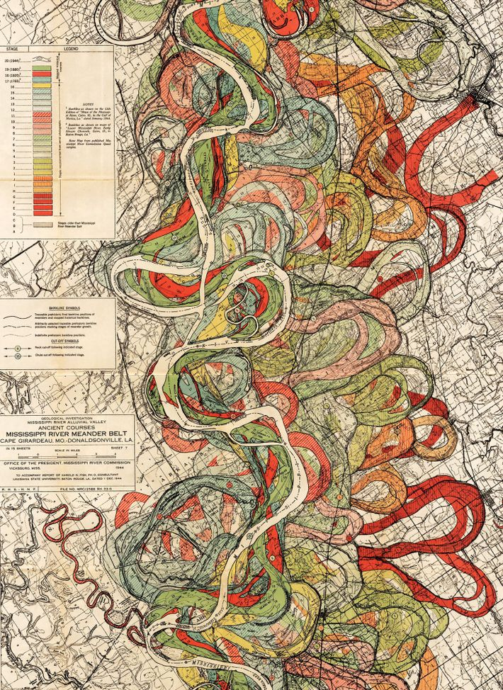 Mapa de Harold Fisk
