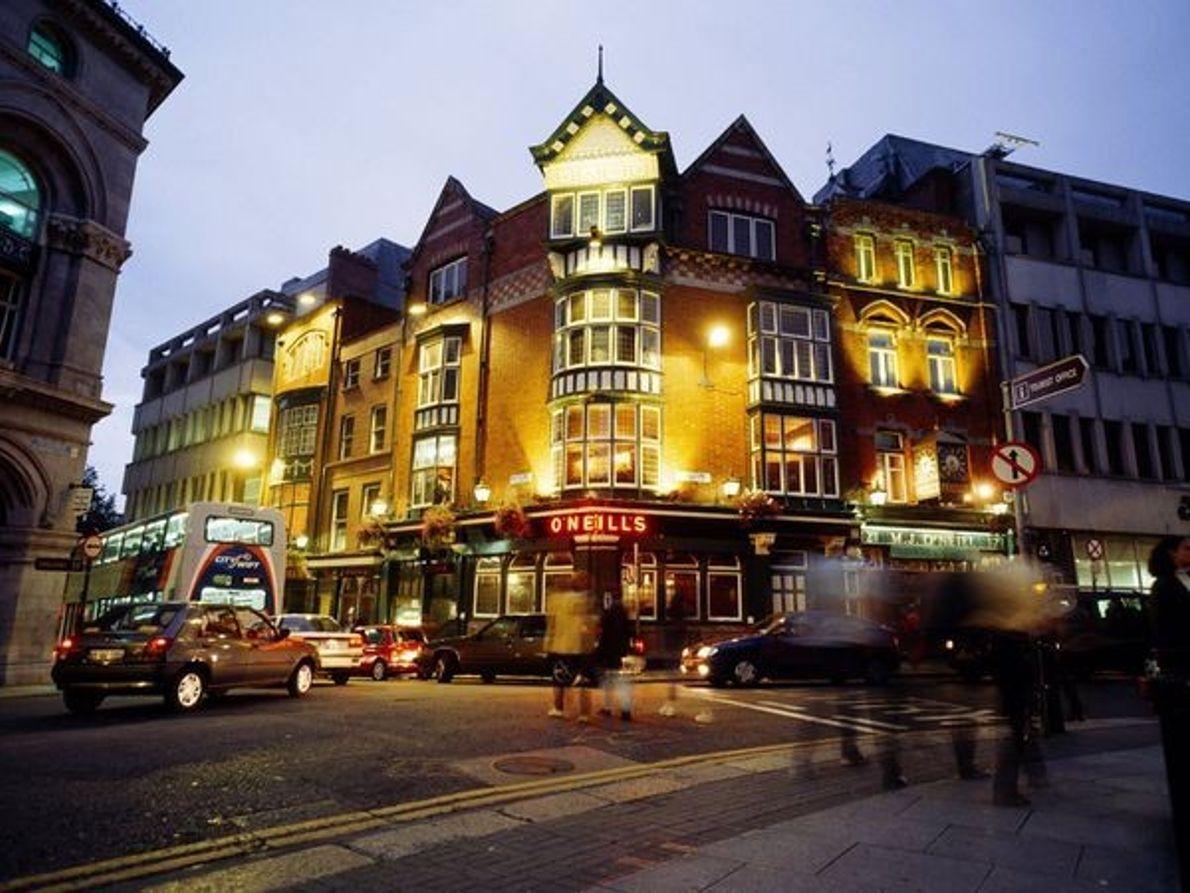 Los pubs de Dublín