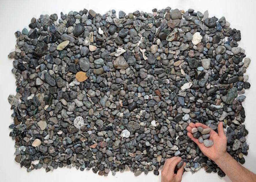 Piroplásticos recogidos en las playas de Cornualles.