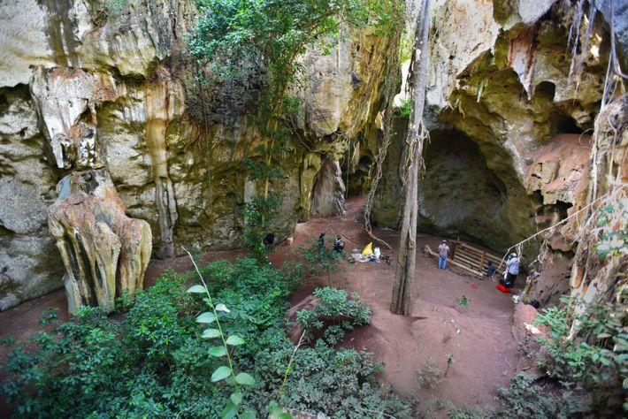 Fotografía de la cueva de Panga ya Saidi
