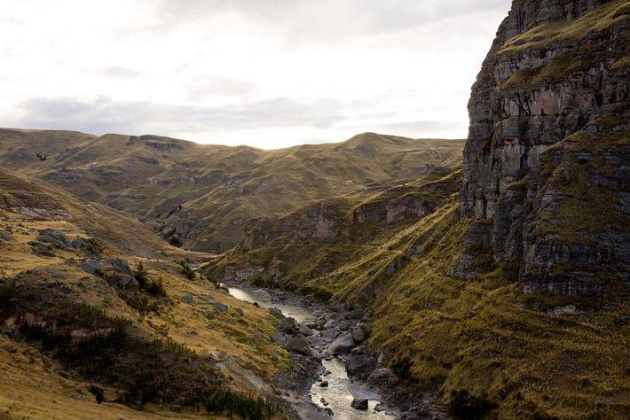 El río Apurímac
