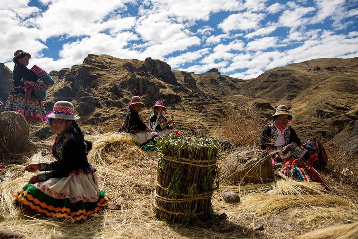 Mujeres quechua