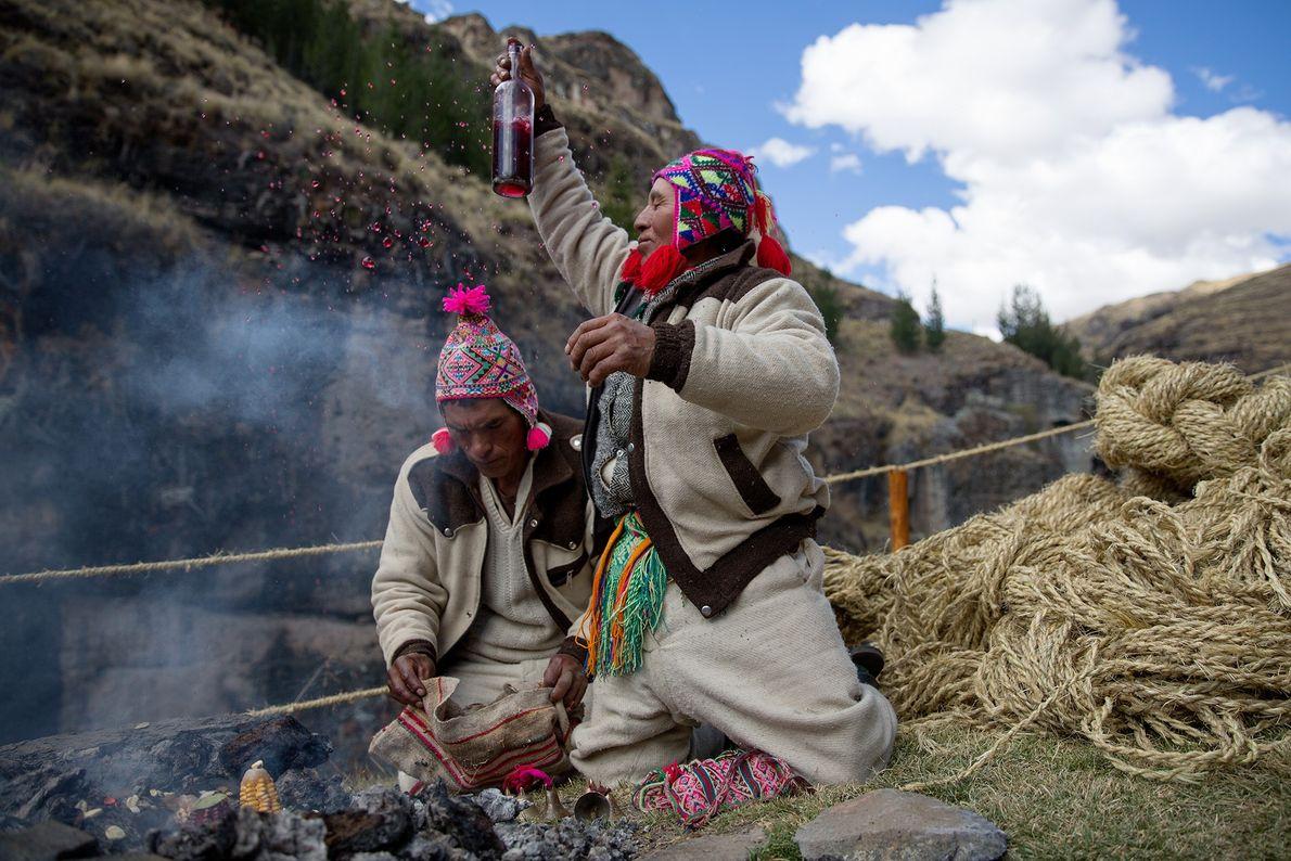 Sacerdotes quechua