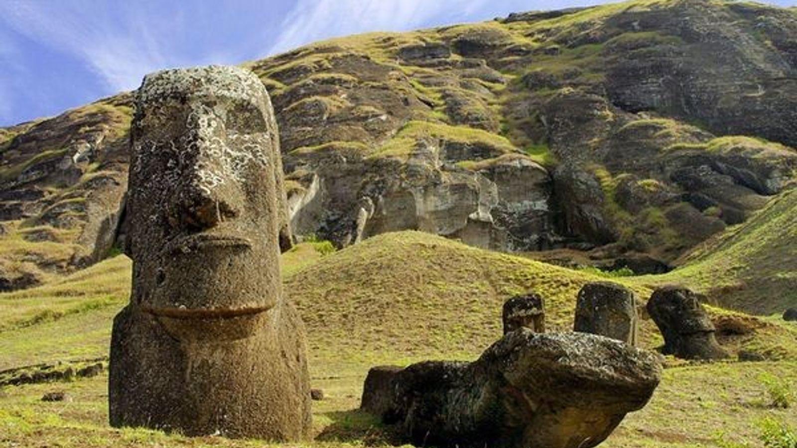 Moai, isla de Pascua